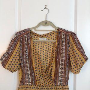 Feels-like-Provence peasant, casual wear dress